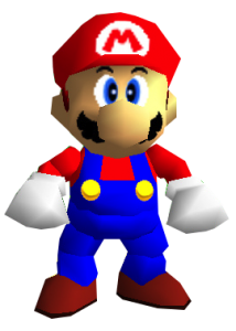 Super Mario 64 Nintendo Transparent