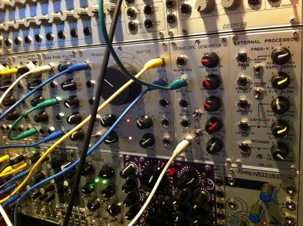 Eurorack Modular Synth Patching