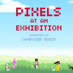 Pixels at an Exhibition Title